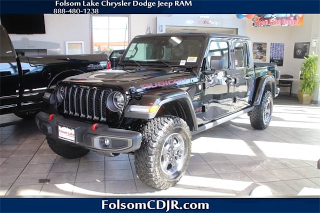 New 2020 Jeep Gladiator RUBICON 4X4 Crew Cab 1C6JJTBG2LL105033 1C6JJTBG2LL105033 for sale near Sacramento CA