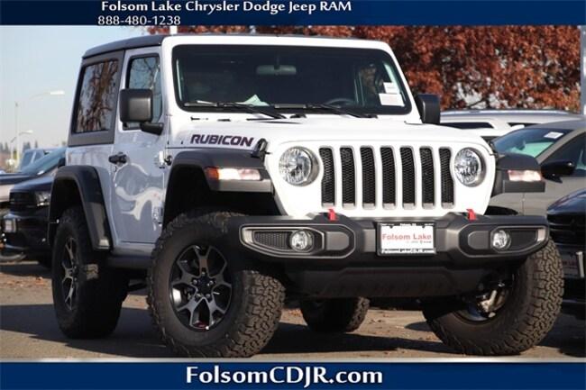 New 2018 Jeep Wrangler RUBICON 4X4 Sport Utility 1C4HJXCN9JW219683 for sale near Sacramento CA