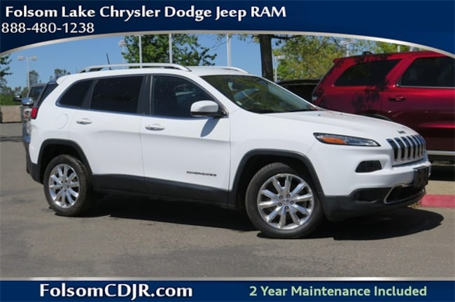 Certified Pre-Owned 2016 Jeep Cherokee Limited FWD SUV 1C4PJLDB3GW247674 for sale near Sacramento CA