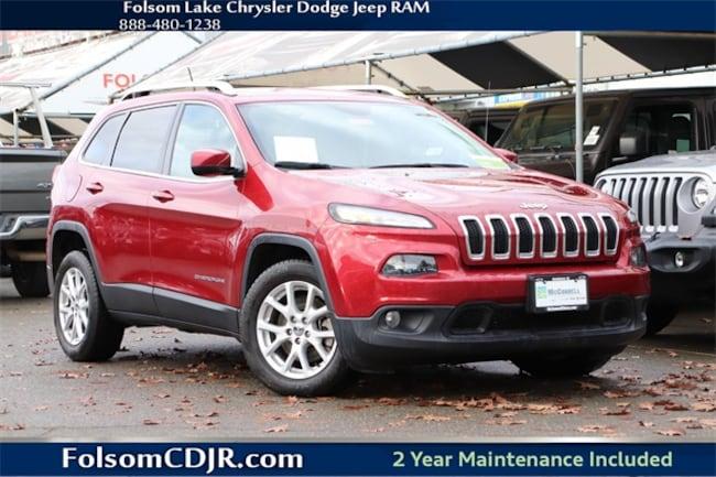 Certified Pre-Owned 2015 Jeep Cherokee Latitude FWD SUV 1C4PJLCB5FW656937 for sale near Sacramento CA