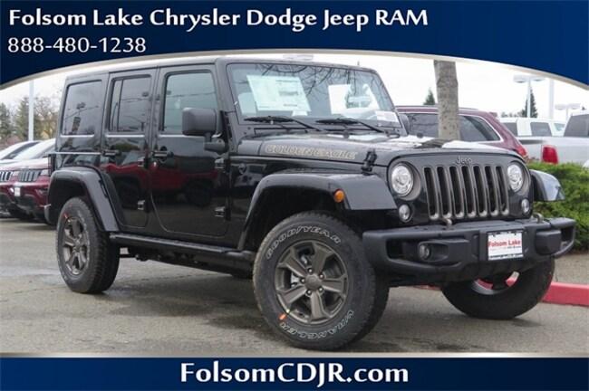 New 2018 Jeep Wrangler JK For Sale | Folsom Near Sacrato ...