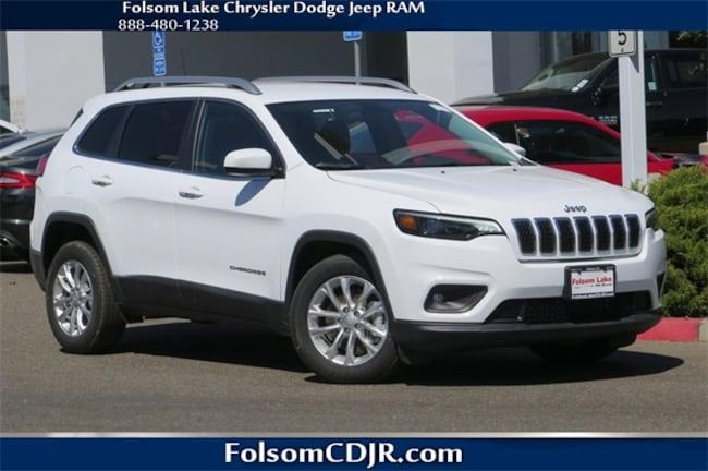 New 2019 Jeep Cherokee LATITUDE FWD Sport Utility 1C4PJLCX4KD170962 1C4PJLCX4KD170962 for sale near Sacramento CA