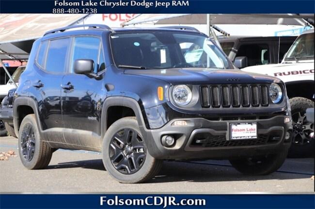 New 2018 Jeep Renegade UPLAND 4X4 Sport Utility ZACCJBAB0JPH80664 for sale near Sacramento CA