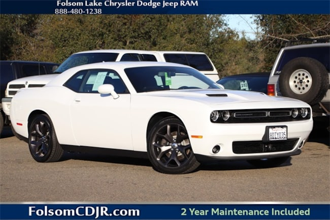 Certified Pre-Owned 2018 Dodge Challenger SXT Coupe 2C3CDZAG1JH258160 for sale near Sacramento CA