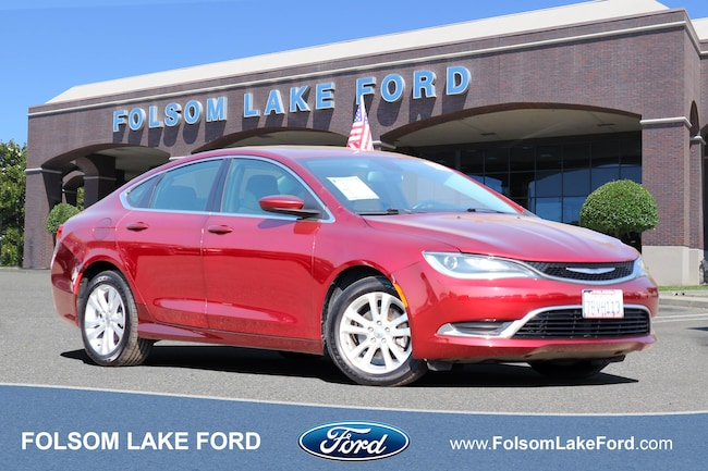 Used 2015 Chrysler 200 Limited Sedan For Sale Folsom