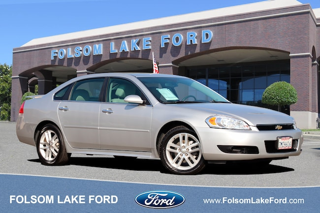 Used 2016 Chevrolet Impala Limited LTZ Sedan For Sale Folsom