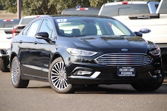 New 2017 Ford Fusion Hybrid Titanium Sedan For Sale Folsom California