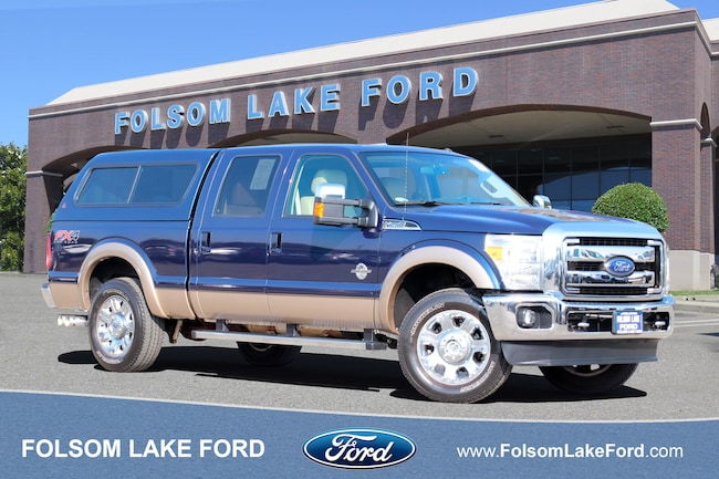 Used 2014 Ford Super Duty F-250 SRW LAR/MR/L/NAV/T/BC For Sale Folsom