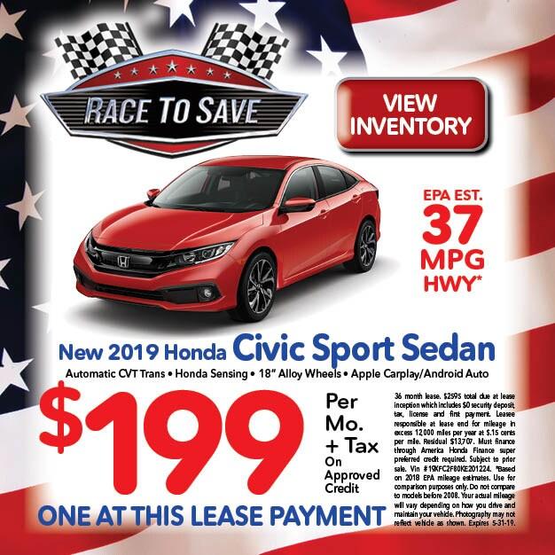 Honda Specials Deals On New Used Cars Folsom Lake Honda