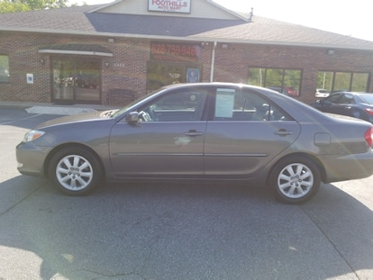 used 2003 toyota camry for sale at foothills auto mart of lenoir vin 4t1bf30kx3u559638 used 2003 toyota camry for sale at
