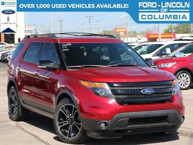 2013 Ford Explorer Sport SUV