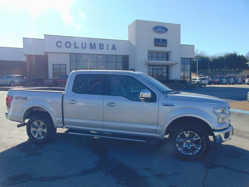 2016 Ford F-150 Lariat Crew Cab Long Bed Truck