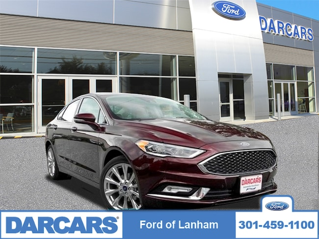 2017 Ford Fusion Platinum FORD CERTIFIED Sedan