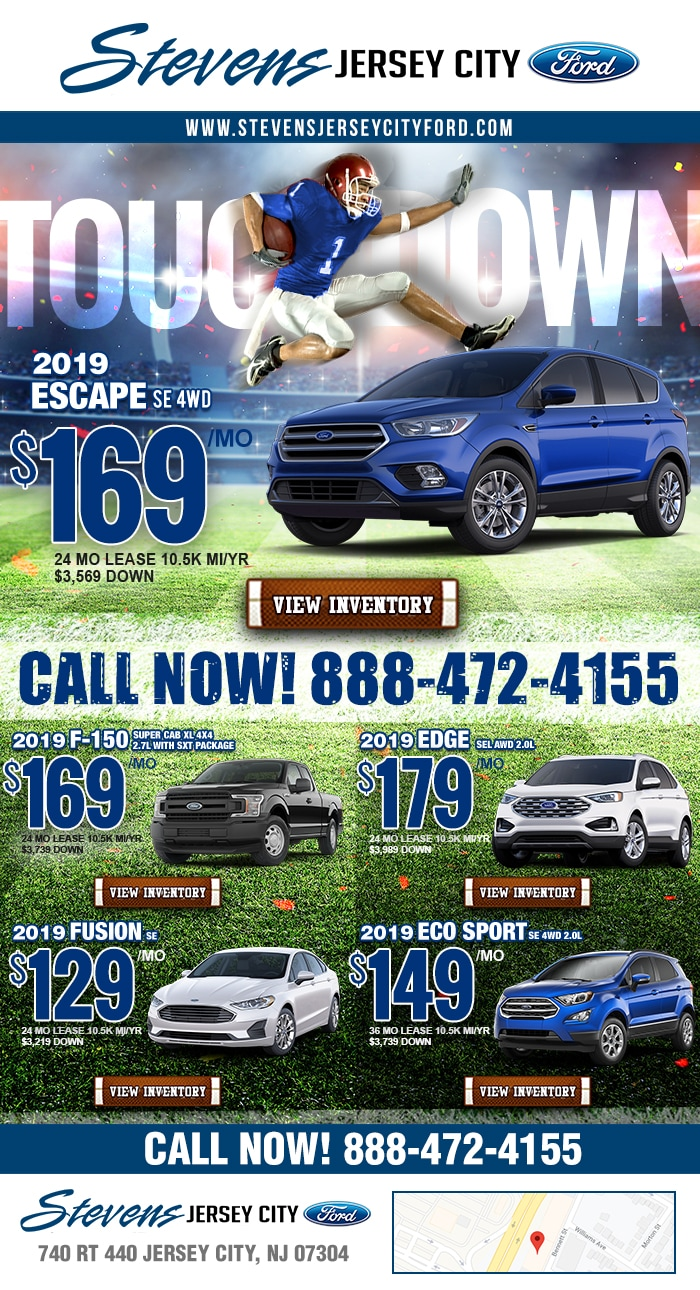 Today's New Vehicle Specials