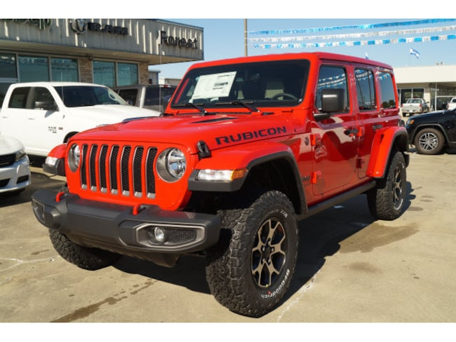New 2019 Jeep Wrangler UNLIMITED RUBICON 4X4 Sport Utility Forest MS