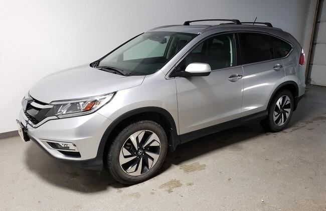 2016 Honda CR-V Touring|Certified|Rmt Start|Navi|Htd Lthr|Camera SUV