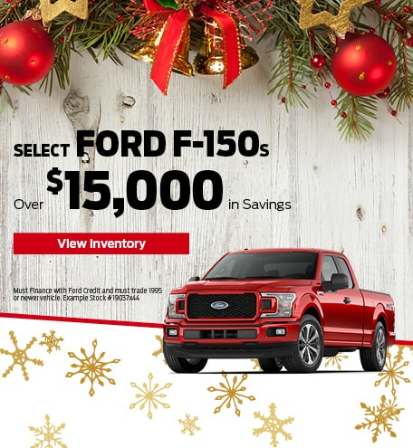 New F-150 Over $15,000 in savings