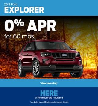 2019 Ford Explorer Special Offer