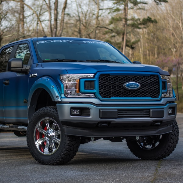 Ford F-150 with Rocky Ridge Altitude Package