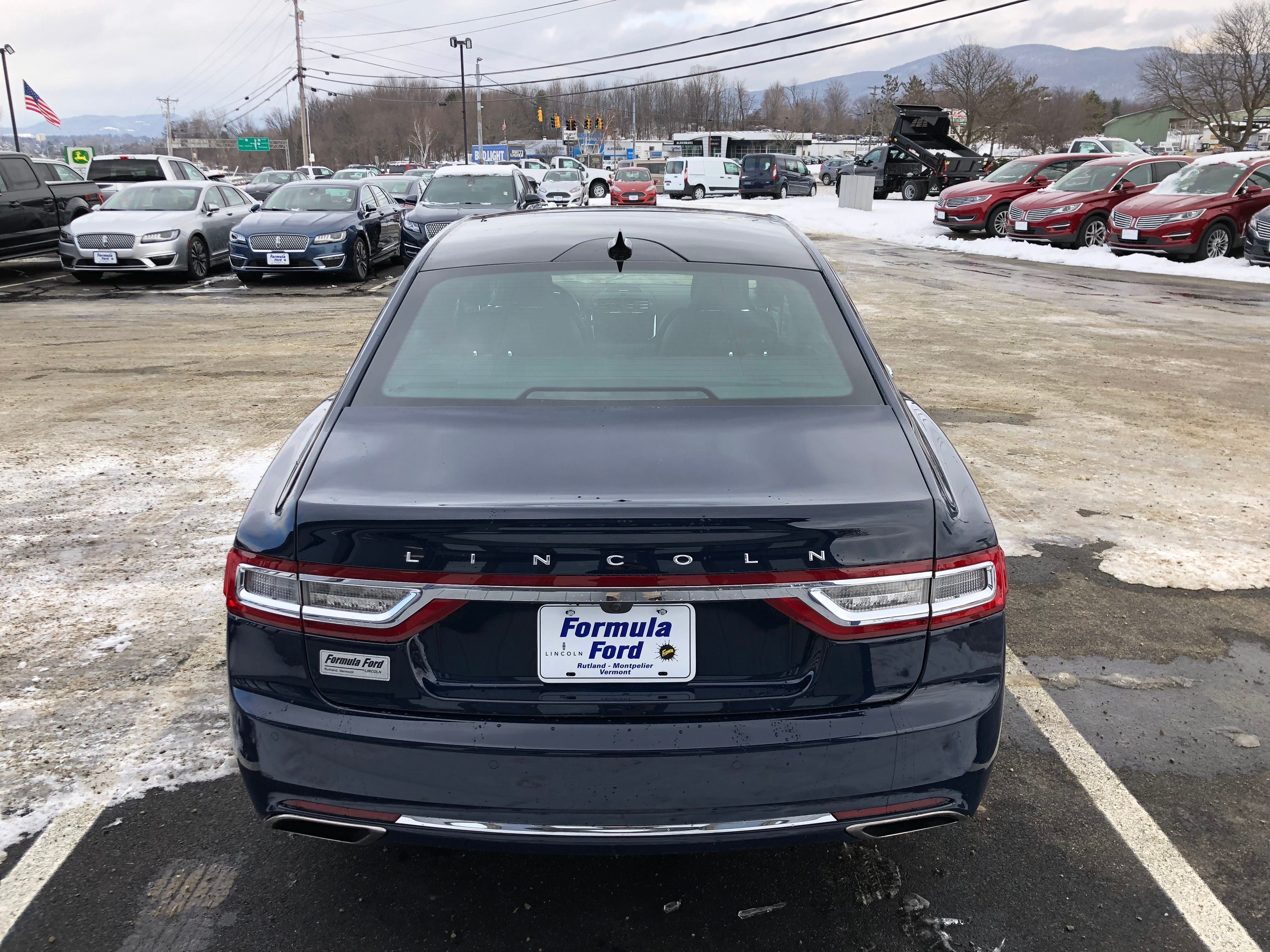 New 2019 Lincoln Continental For Sale At Formula Lincoln Vin