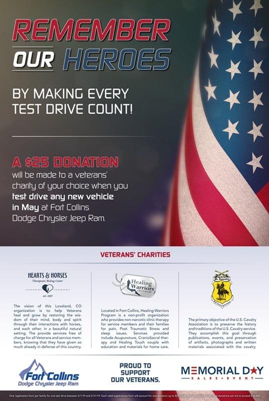Fort Collins Dodge >> In The Fort Collins Community Fort Collins Dodge Jeep Chrysler