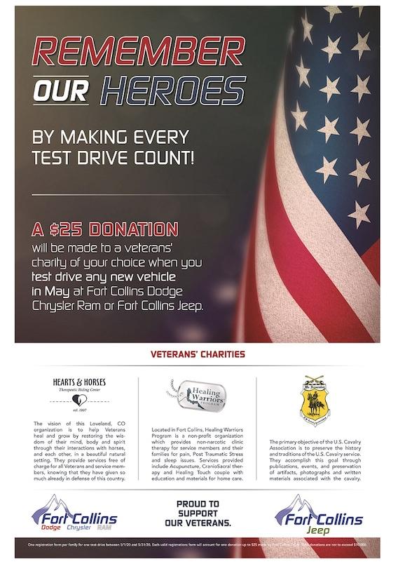 In The Fort Collins Community Fort Collins Dodge Jeep Chrysler Serving Loveland Greeley Windsor Cheyenne Wy