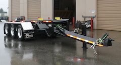 2019 Fort Fabrication Tridem Roll On Roll Off Container Trailer