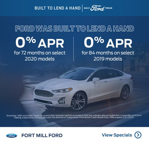 0% APR for 72 to 84 Months
