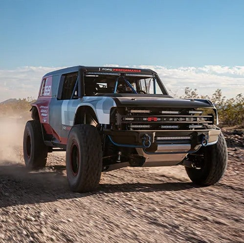 2021 Ford Bronco Driving