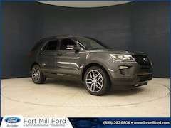 New 2019 Ford Explorer Sport SUV for sale in Fort Mill, SC