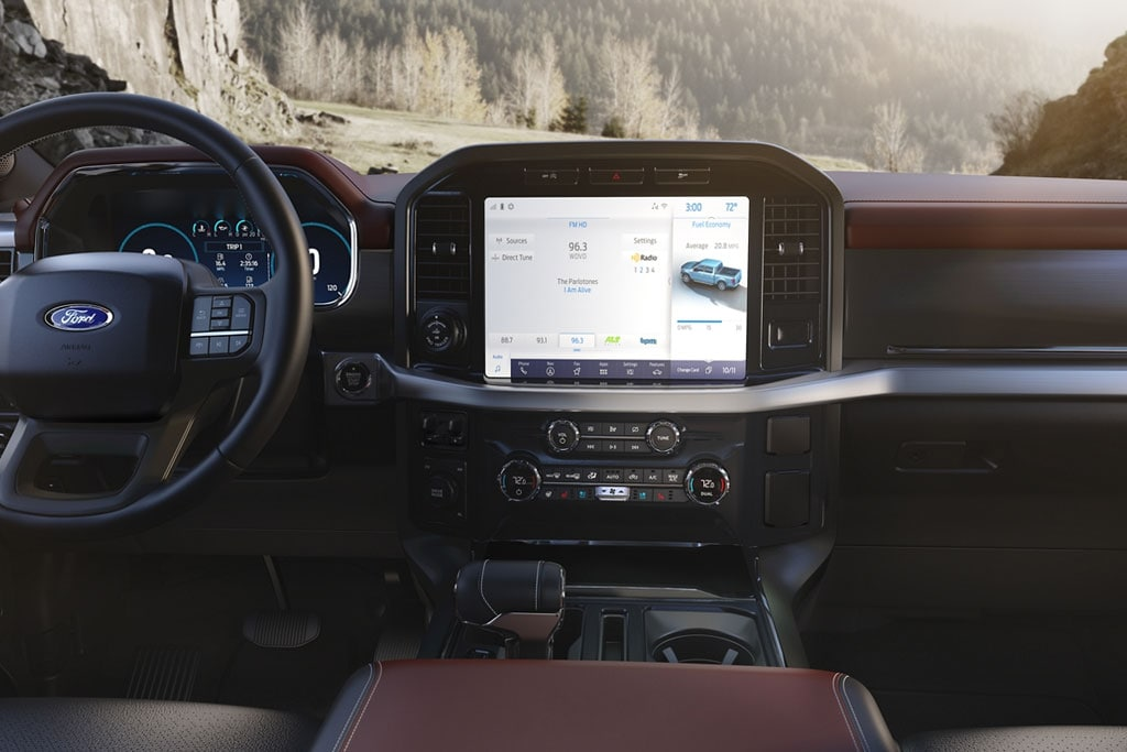 2021 Ford F-150 Interior and Infotainment System