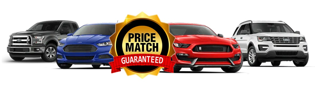 Price Match Guarantee for Ford Models