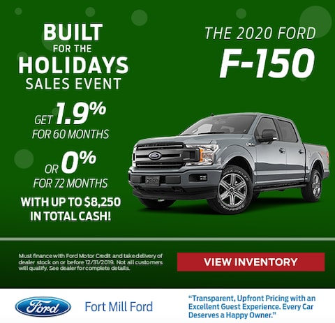 2020 Ford F-150 Purchase Special