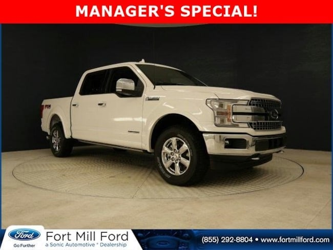 New 2018 Ford F-150 Truck SuperCrew Cab for sale in Fort Mill, SC