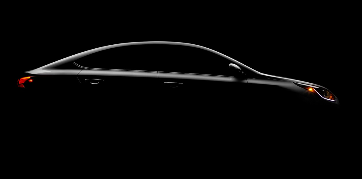 Hyundai Accent Side Teaser