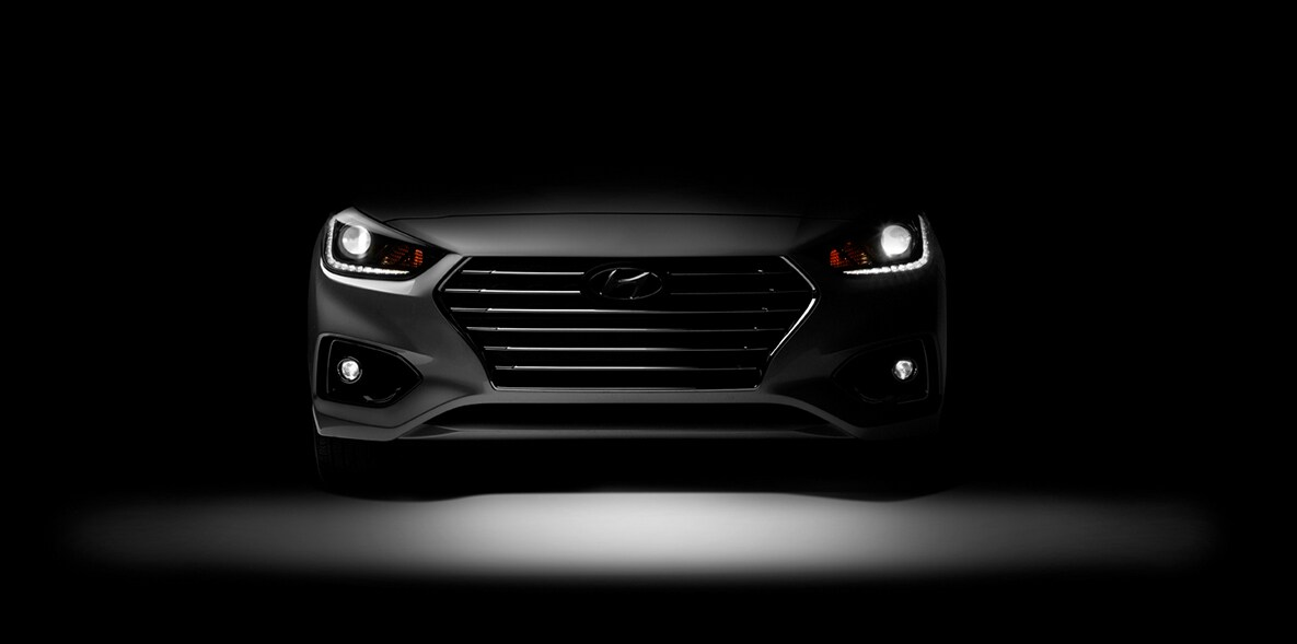 Hyundai Accent Front Teaser