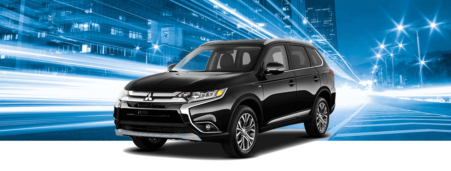 2018 Mitsubishi Outlander MLP with background