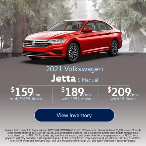 2021 Volkswagen Jetta S Manual