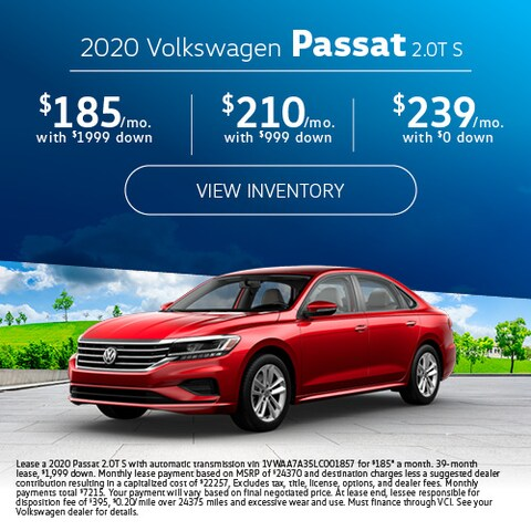 2020 Volkswagen Passat 2.0T S