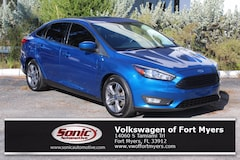 Used 2018 Ford Focus SE Sedan for sale in Fort Myers