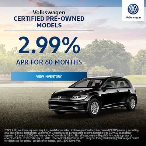 Volkswagen Certified Pre-Owned Models