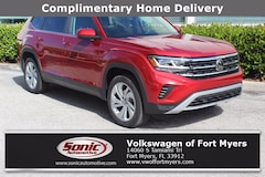 New 2021 Volkswagen Atlas 2.0T SE w/Technology SUV Fort Myers