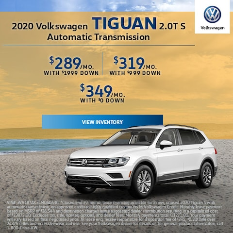 2020 Volkswagen Tiguan 2.0T S Automatic Transmission