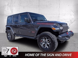 Used 2019 Jeep Wrangler Unlimited Rubicon 4x4 SUV for sale in Fort Walton Beach, FL