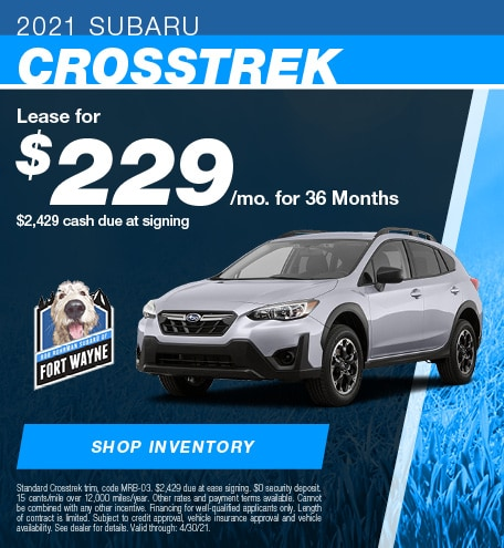 New 2021 Subaru Crosstrek | Lease