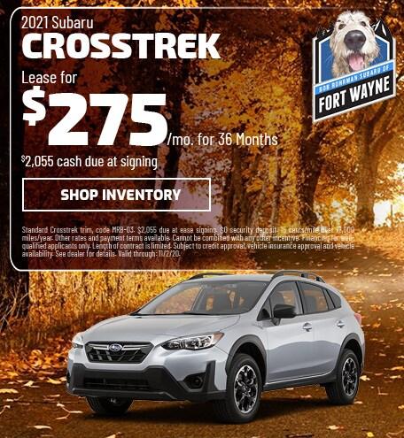 New 2021 Subaru Crosstrek | Lease