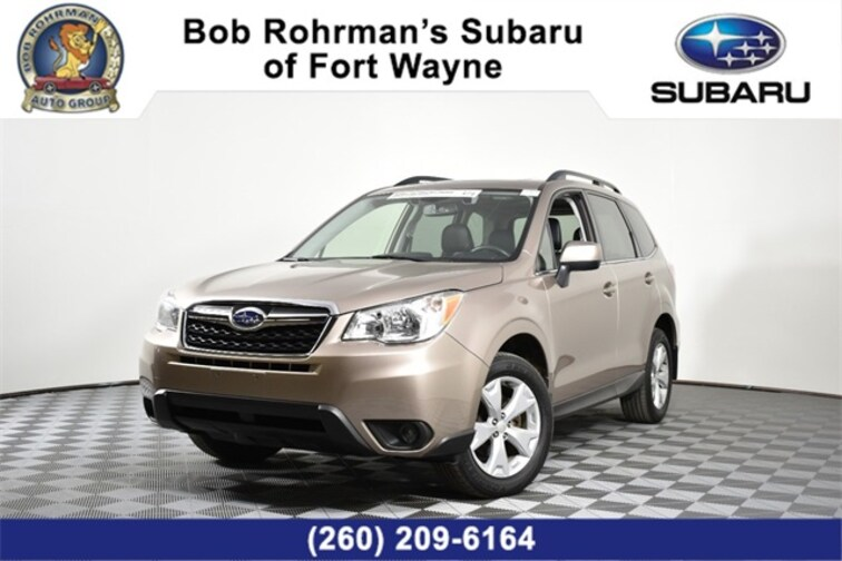 Used  2016 Subaru Forester 2.5i Limited SUV For Sale in Fort Wayne, IN