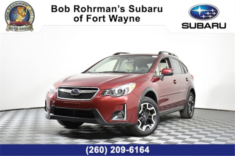 Used  2016 Subaru Crosstrek 2.0i Limited SUV For Sale in Fort Wayne, IN