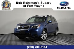 Certified Pre-Owned 2016 Subaru Forester 2.5i Limited SUV JF2SJAHC4GH452427 in Fort Wayne, IN