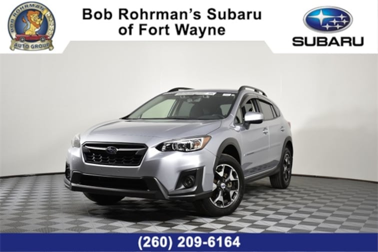 Certified Pre-Owned  2018 Subaru Crosstrek 2.0i Premium with SUV For Sale in Fort Wayne, IN
